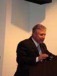 Moderator Frank Mottek, KNX Business Hour
