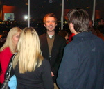Associate Editor Patrick Kevin Day at Launch event of theenvelope.com.