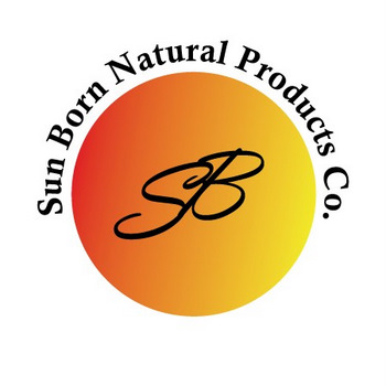 image of sun born natural products logo