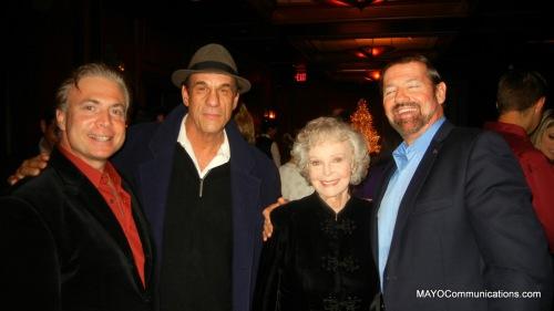 image of SPJ LA MIXER With Frank Mottek, Robert Navi, June Lockhart and George McQ