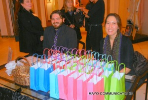 image of gift bags at Hollywood Museum