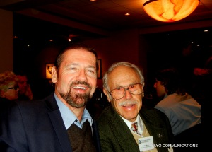 Image of George McQuade and Julian Myers at EPPS Mixer