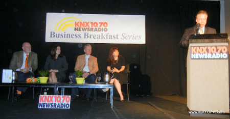 image of panel knx business breakfast series