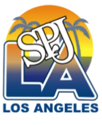 Graphic logo of Greater LA Chp. of SPJ LA SPJ