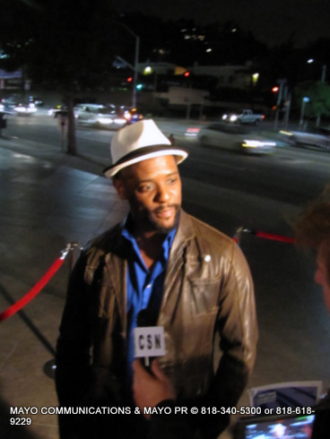Opening night of the Pan African American Film Festival, Hollywood, CA  on through Feb. 18, 2013.