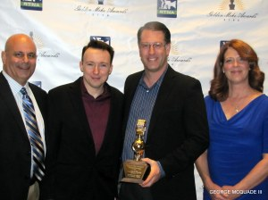 """The """"Oscars"""" of Broadcast Journalims at the Universal helton Hotel."""
