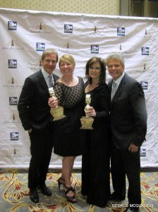 """The Channel 4 News KNBC-TV took home several awards for news programs and """"Best Newscast"""" at 11 P.M."""