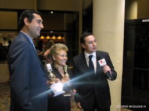Telemundo goes live at Golde Mikes awards.
